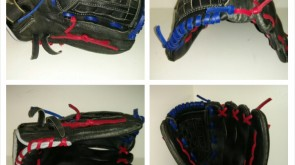 Mizuno Red and Royal Blue Lace