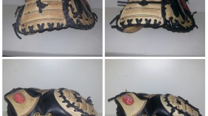 Rawling Catchers Mitt black lace