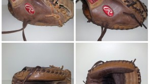 Rawlings Catcher Mitt from tan to brow lace