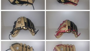 Wilson A2000 from black to red lace