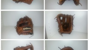 Wilson A2000 tan lace