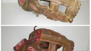 Wilson A2000 from tan to red lace